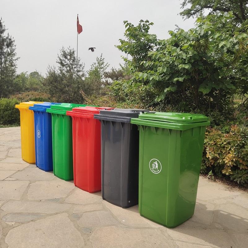 物业垃圾桶-加厚挂车款